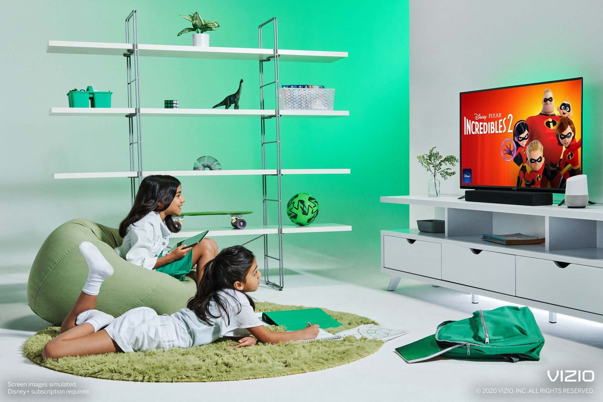Watch your favorite movies in full HD on VIZIO D-Series TVs