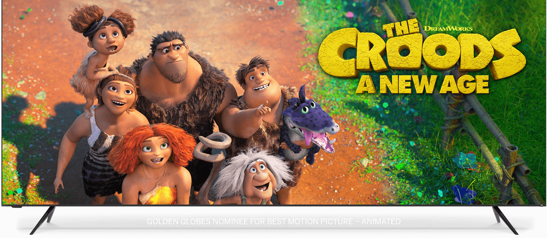 VIZIO TV Featuring Croods