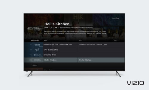 NEW CHANNELS ON VIZIO WATCHFREE™