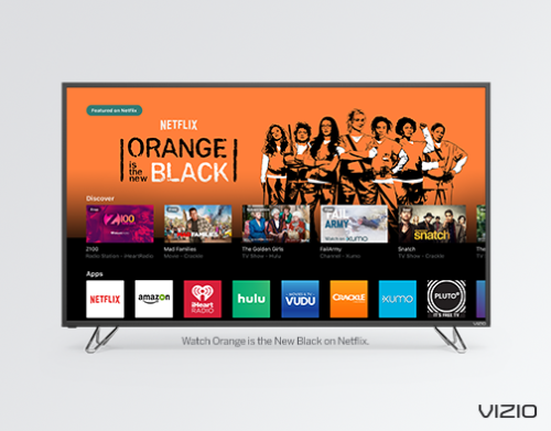 VIZIO SMARTCAST TV℠ ROLLS OUT