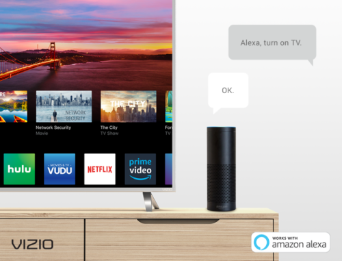 NEW FEATURE: CONTROL YOUR VIZIO SMARTCAST™ DISPLAY WITH AMAZON ALEXA