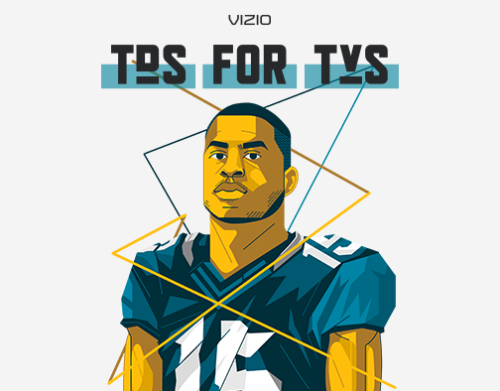 VIZIO + ALLEN ROBINSON TEAM UP FOR TDS FOR TVS