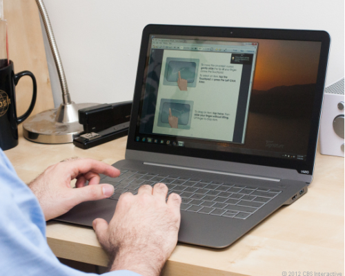 VIZIO Thin+Light PC Makes CNET's Top Laptops They Love Under $1000