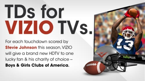 Enter to Win a New VIZIO HDTV