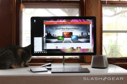 SlashGear Talks VIZIO All-in-One PC